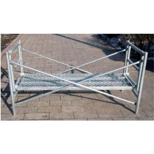 Punched Hole Cross Brace for Frame Scaffolding pictures & photos
