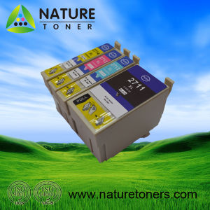 Compatible Ink Cartridge T2711, T2712, T2713, T2714 for Epson Printers pictures & photos