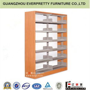 Hot Selling Wooden Metal Library Bookself Book Rack School Furniture pictures & photos