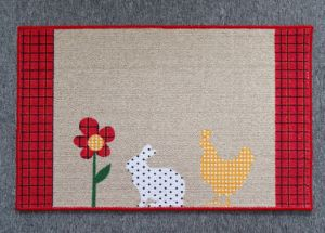 Cotton Printed Anti-Slip Door Mat/Rugs #2, Super Water Absorbing pictures & photos