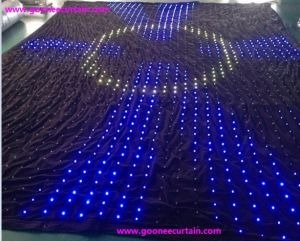 P10 Stage Background LED Display Curtain\LED Curtain