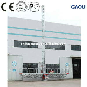 Energy Saving GOST Climbing Work Platform with Max 150m Lifting Height pictures & photos