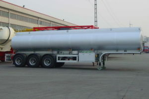 Aluminum Alloy Oil Fuel Tanker