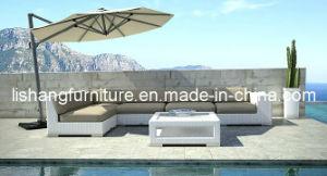 White Color Outdoor Garden Sofa in Foshan Hl-9097
