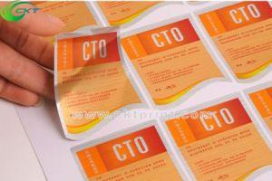 Custom Printing Waterproof Self Labels (CKT-LA-409)