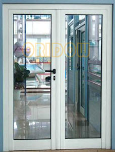 China heat insulated aluminium alloy french door china for Insulated french doors