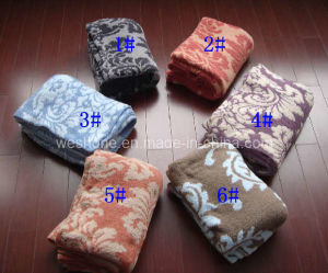Polyester Blanket, Knitted Blanket (PB-K30804) pictures & photos