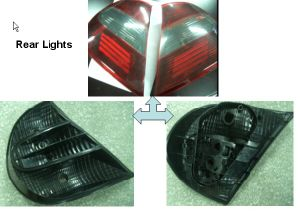 Car Rear Light Mirrow Polishing Mould pictures & photos