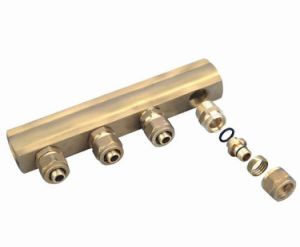 Brass Manifolds Collectors for Hot Pipe Fittings pictures & photos