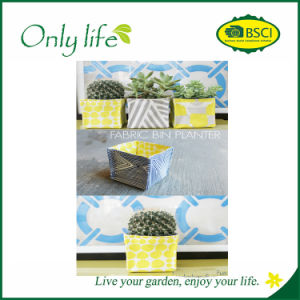 Onlylife Durable Popular High Quality Square Felt Fabric Bin Panters pictures & photos