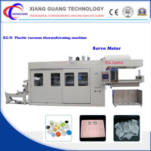 Plastic Disposable Food Container Thermofoming Machine with Servo Motor pictures & photos