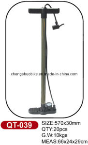 Best Price and High Quality Bicycle Pump Qt-039 pictures & photos