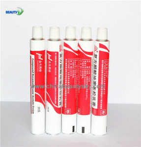 Pharmaceutical Packaging Cosmetic Skin Care Hand Cream Labeling Empty Aluminum Collapsible Tube pictures & photos