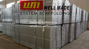 Galvanized Scaffold Boards Steel Walk Board Planks pictures & photos