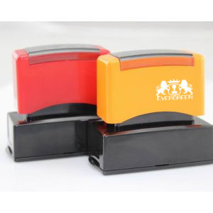 Dual Foam Pre Inked Stamp 20*40mm pictures & photos