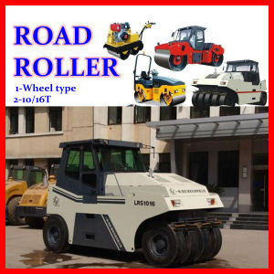 High Quality Pneumatic Tire Roller 10-16t for Sale (LRS1016) pictures & photos