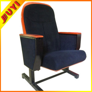 Jy-615m Conference Chair/Wooden Chair with Wooden Armrest Fabric Seating Chair pictures & photos