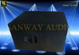 Subwoofer 15′′ PRO Audio Q-Sub pictures & photos