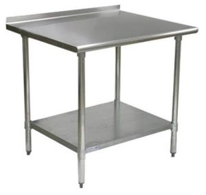 Backsplash Work Table - 2