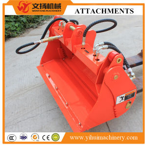 Variety Function Hydraulic 4 in 1 Excavator Bucket Attachment pictures & photos