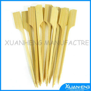 Natural Disposable Bamboo Skewers BBQ pictures & photos
