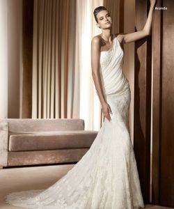 Casual Wedding Gown (Z-056)