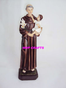 Polyresin Statue of Catholic Sculpture pictures & photos