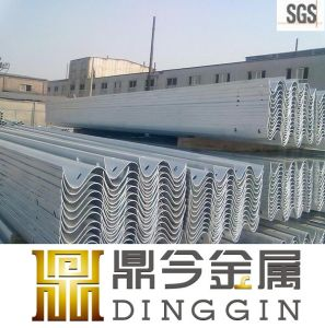 Zinc Coated Galvanized Steel Roadside Guardrail pictures & photos