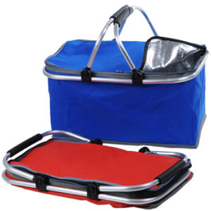 Collapsible Beach Thermal Insulated Ice Cooler Basket pictures & photos