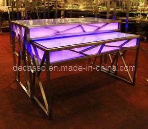 Luxury LED Buffet Table (DE38) pictures & photos