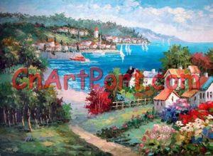 Mediterranean Sea Painting (MEDI0124)
