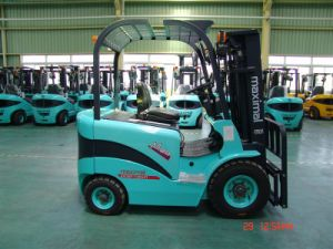 Four-Wheel Electric Forklift With Zapi Controller