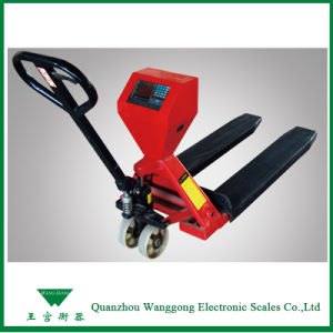 Electronic Pallet Truck with Weighing Instrument pictures & photos