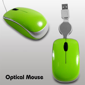 Optical Mouse, Wired Mouse,