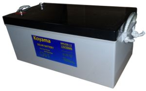 12V Deep Cycle Gel Battery Photovoltaic System Battery 250 Ah pictures & photos