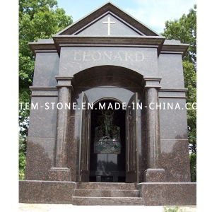 High Quality Granite Stone Mausoleum with SGS pictures & photos