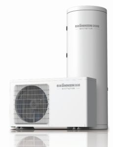 Air to Water Heat Pump for Sanitary Hot Water or Room Heating pictures & photos