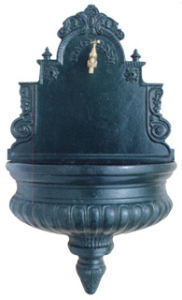 Cast Iron Fountain, Wall Fountain pictures & photos
