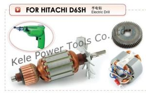 Armature, Stator and Gear Set for Power Tools: Hitachi D6sh pictures & photos