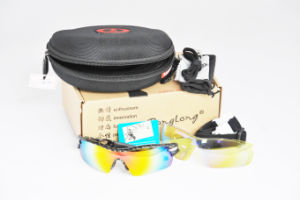 Sports Polarized Sun Glasses/ Eyewear /Goggle Sunglasses (5 Color Lens for Cycling)