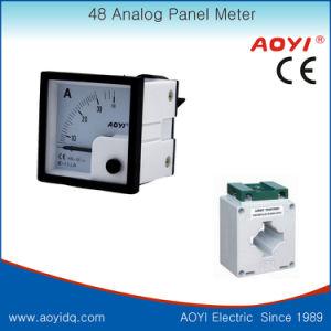60A 300V 48*48mm Analog Panel Meter Voltmeter Ammeter pictures & photos