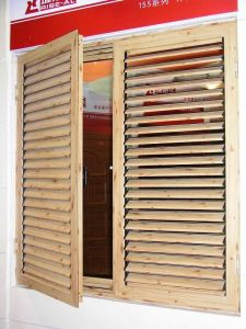 Aluminum Shutter With Casement Window (TS-086)