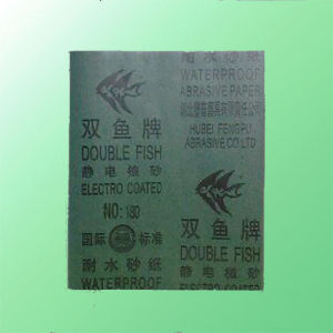 """Double Fish"" Waterproof Abrasive Paper pictures & photos"