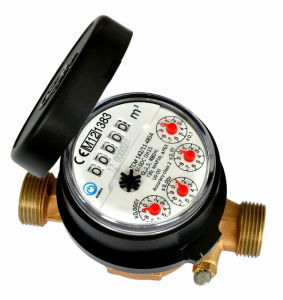 Single Jet Water Meter (D7-5+4) pictures & photos