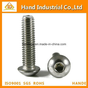 Ss304/316 Hex Socket Button Head Anti-Theft Machine Screw pictures & photos