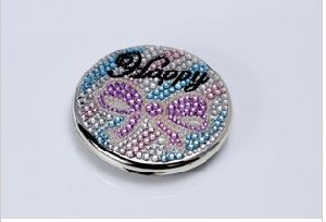 Silver of Lens Cosmetic Mirror/Glass (YK--002)