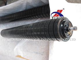 Conveyor Impact Roller with Rubber Ring pictures & photos