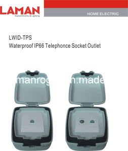 LWIPD-TPS IP65 Waterproof Telephone Socket Outlet