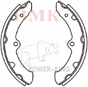 Non-Asbestos Brake Shoes (K2297) for Japanese Car pictures & photos