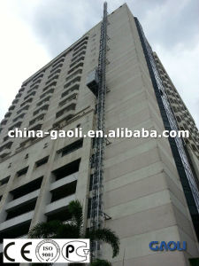 High Rise Electric Rack&Pinion Construction Building Hoist / Lifting Machinery pictures & photos